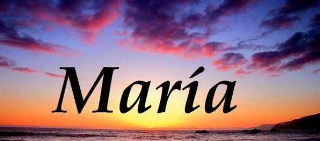 Significado del nombre María