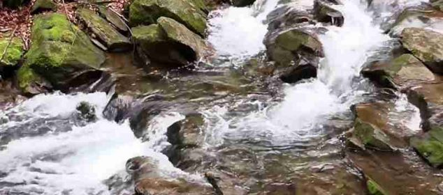 soñar con agua corriendo